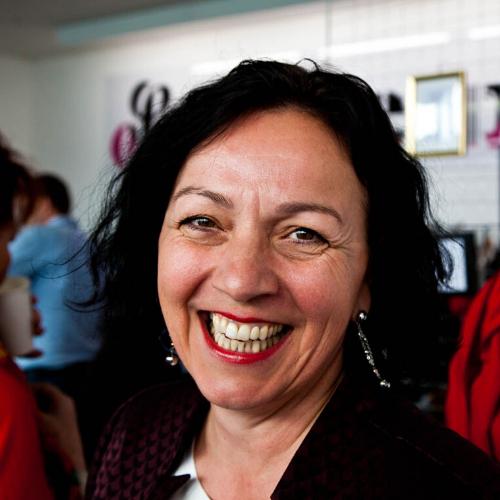 Andrea Maurer Ein strahlendes Lachen